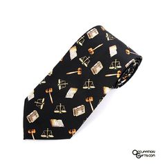 Lawyer Tie - Gifts for Lawyers / Attorneys