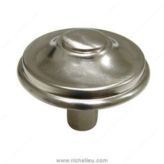 Povera Collection Brass Knob - 6134 - 613433195 - Richelieu Hardware