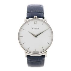 Add some style to the classic mood White Watches For Men, Bracelets Bleus, Bleu Marine, Blue And White, Mood, Steel, Luxury, Classic, Accessories