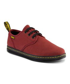 Doc Martin's Cherry Red Soho Sneaker - Women on zulily today! (Bought these too)