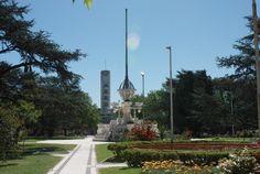 Plaza de Alberdi . Buenos Aires Argentina. foto Gustavo Talon