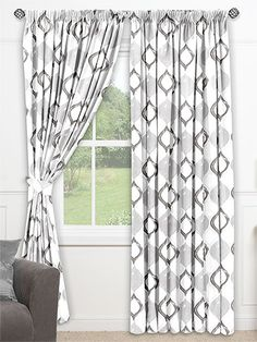 Pomaire Oyster Grey Curtains from Curtains 2go