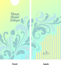 These are envelope designs that I made for competition.The contest was to make envelope design with islamic theme.If anyone interested in buying these designs, please contact me. Eid Envelopes, How To Make An Envelope, Envelope Design, Happy Eid, Eid Mubarak, Gift Packaging, Islamic Art, Behance, Competition