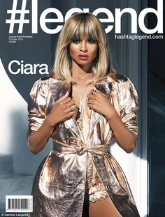 Make it metallic in a Lanvin trench coat like Ciara. Click 'Visit' to buy now. #DailyMail