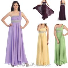Long Bridesmaid dress in color Purple, Yellow, Green & more - One Shoulder style in Chiffon - Plus Size available. - $138 - Dress URL: http://www.jessicasfashion.com/a-hot-new-one-shoulder-style-dress.-mq748-arrive-march-10.html #bridesmaiddress #bridesmaiddresses  #dressshopping  #chiffondress #chiffondresses  #longdress #longdresses #oneshoulderdress #plussizedress