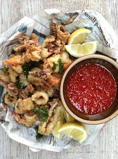 Squid and Prawns | Fish Recipes | Jamie Oliver Recipes
