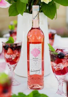 LVP Pink Sangria - Lisa Vanderpump Sangria! I need this!
