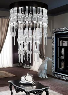 Enhance your home decor with this modern  #Crystal #Chandelier