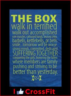 the rules of the CrossFit box | i luv crossfit