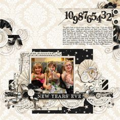 Layout: New Year's Eve