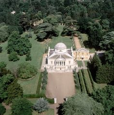 "Chiswick House from http://LondonTown.com If this were mine....the sign at the front gate would read ""NO VISITORS"""