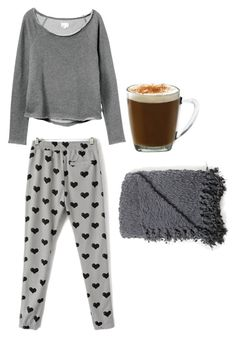 """cute pajamas"" by kennedy-mccann ❤ liked on Polyvore"
