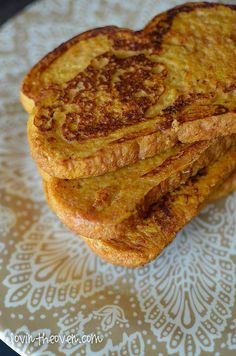 pumpkinfrenchtoast-4 by lovintheoven, via Flickr