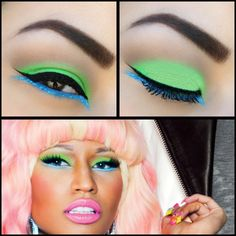 Nicki Minaj Viva Glam Inspired Eyes
