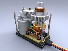 This movie gives an overview of how RC servo motor works and how it's made. Arduino Wireless, Hydrogen Generator, Reloading Ammo, 3d Printing Diy, Electronic Schematics, Motor Works, Stepper Motor, Cnc Machine, Cars Motorcycles