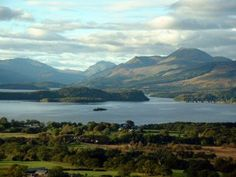 The bonny, bonny banks of Loch Lomond, Scotland - we stayed here!