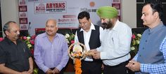 Dr. Kulbir Singh Dhillon, Dean, Punjabi University, Patiala was the Guest of Honour in Aryans Scholarship Mela organised today at PHD Chamber of Commerce and Industry, Sec. 31-B, Chandigarh.