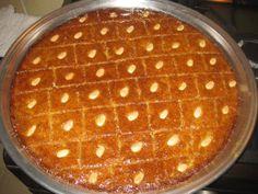 """Harisa"" dulce palestino"