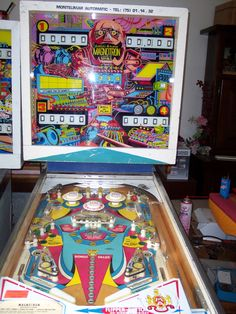 Magnotron pinball machine made by Gottlieb in 1974 Pinball Games, Pinball Wizard, Arcade Games, Arcade Game Room, Penny Arcade, Pool Tables, Retro Images, Arcade Machine, Vintage Games