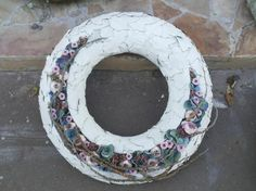 Wreath  @ Nicole Flower School Wreath Rings, Sympathy Flowers, Funeral Flowers, Summer Design, Arte Floral, Floral Crown, Door Wreaths, Flower Designs, Flower Art