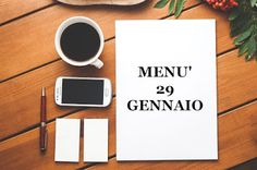 TUTTI INSIEME: 29 gennaio menù