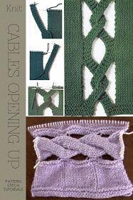 Şiş örgüsünde delik yapımı - NaLaN'ın Dünyası: #diy #recycling #crochet #recipes #jewelrymaking #nlndnys