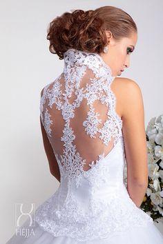 wedding#bridal#lace back#