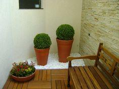 5 Jardinsitos con piso de madera fáciles de hacer (de Silvia Regalado)