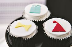 minimalist cupcake toppers