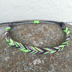 Fishtail Bracelet Fresh Mountain Color String Waterproof Surf Beach Jewelry Costa Rica Pura Vida