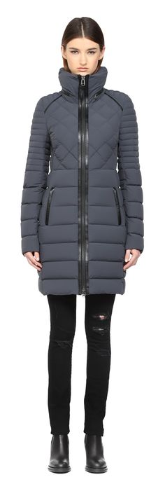 Mackage Calla Lightweight Quilted Down Jacket Padded Jacket, Leather Jacket, Coats For Women, Jackets For Women, Fur Collar Coat, Work Jackets, Duvet, Down Coat, Vest Jacket