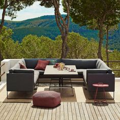 Dining Sofa, Lounge Sofa, Lounge Furniture, Sofa Set, Outdoor Furniture Sets, Furniture Design, Contemporary Outdoor Furniture, Garden Furniture, Modern Furniture