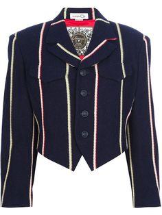 47 Love the Kansai Yamamoto Vintage cropped structured blazer onWantering.