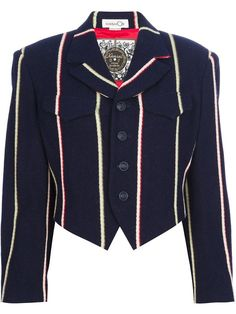 47 Love the Kansai Yamamoto Vintage cropped structured blazer onWantering.