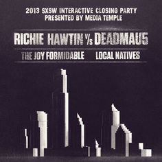 Richie Hawtin vs. deadmau5 (aka testpilot) - Live @ SXSW 2013 by RichieHawtin on SoundCloud