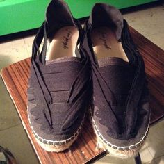 Free people espadrilles Up for sale are a pair of free people espadrilles in size 41.. Worn twice and in excellent condition. Very comfortable, no box. Free People Shoes Espadrilles