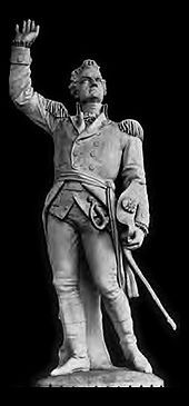 Ethan Allen (January 21, 1738 [O.S. January 10, 1737] – February 12, 1789) was a farmer, businessman, land speculator, philosopher, writer, and American Revolutionary War patriot, hero, and politician. He is best known as one of the founders of the U.S. state of Vermont, and for the capture of Fort Ticonderoga early in the American Revolutionary War.