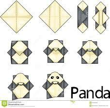 Illustrator Of Origami Monkey Face