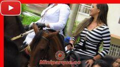chicas bonitas de colombia en caballo cabalgata feria de tulua # 61 horse colombia 2016 video HD 83