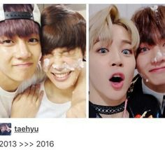 they grown ;') #bts