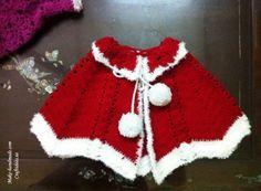 Crochet Christmas Poncho - Chart ❥ 4U // hf  http://www.pinterest.com/hilariafina/