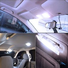 4x Pure Blue 39MM Festoon Dome Map Interior Car LED Light bulb 8SMD Led Light