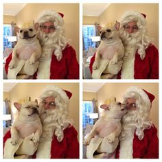 Omg- so excited to meet Santa! Look at that face!