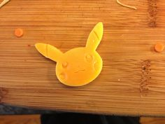 The Pikachu cutter....embosses and cuts.