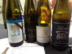 A great Riesling line up #wine