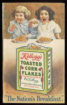Trade Card Kelloggs Toasted Corn Flake - 1910