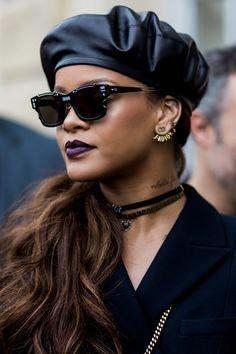 Rihanna attends Paris Fashion Week March 3, 2017