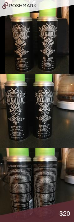 Bed Head Rockaholic Dirty Secret Dry Shampoo Bed Head Rockaholic Dirty Secret Dry Shampoo. Brand new - never used! Retails $9.99 each 2.5 ounce each - travel friendly! Other