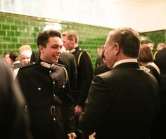 Crown Prince Hussein of Jordania visited by his parents King Abdullah II and Queen Rania when they attend the dinner reception at Sandhurst Military Academy where he currently enrolled, April 2017 Crown Royal, The Crown, Royal Military Academy Sandhurst, Jordan Royal Family, Academia Militar, Bear The Burden, King Abdullah, The Pretenders, Queen Rania
