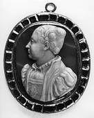 Bottega French Bust of Catherine de 'Medici (cameo) , 1540